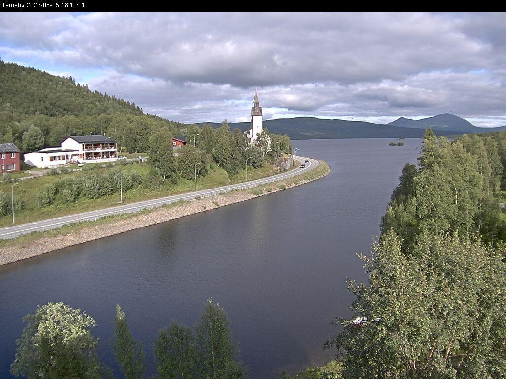 Webcam Tärnaby, Storuman, Lappland, Schweden